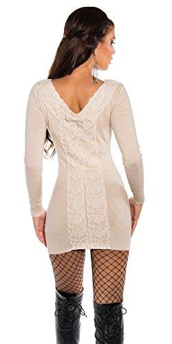Koucla Damen Pullover One size Creamy WFQPI