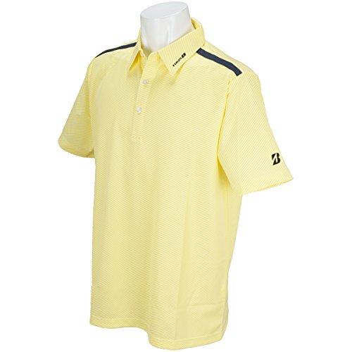 ブリヂストン TOUR B 半袖シャツ?ポロシャツ 半袖台付き共衿ポロシャツ ホワイト LL