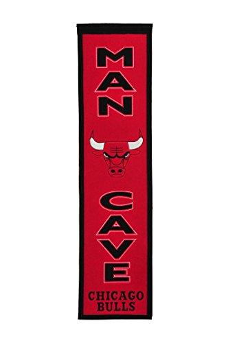 Winning Streak NBA Chicago Bulls Man Cave Banner