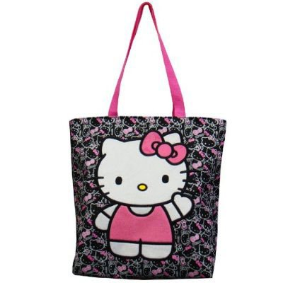 3583da02130 Image Unavailable. Image not available for. Color  Hello Kitty Tote Bag ...