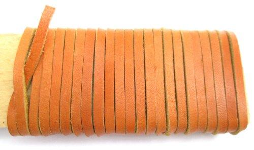Leather 12' Baseball Glove - Lace Lacing Leather Topgrain Latigo Light Sienna Brown 12 Feet 2 Pieces