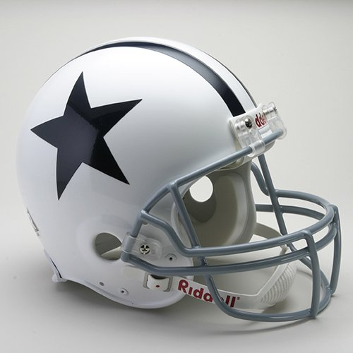 Dallas Cowboys Official NFL 1960-63 Throwback Pro Line Helmet by Riddell by Riddell