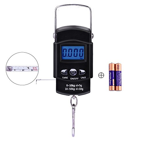 Digital Electronic Measuring Batteries Included