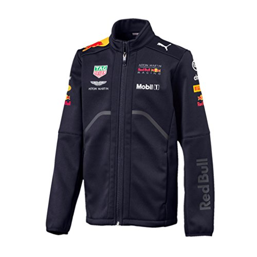 - Red Bull Racing Formula 1 Aston Martin Kids 2018 Team Softshell Jacket F1 (5-6 Years)