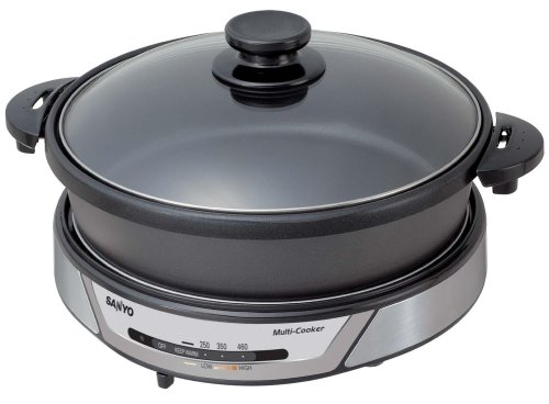 Sanyo HPS-MC3 3-in-1 Nonstick Electric Multi-Cooker
