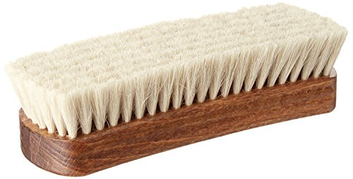 Collonil 1909 Goats Hair Polishing Brush - Made of 100% Goats Hair - Fine and Soft Bristles for Even the Most Delicate Handbags, Shoes Clothing and Upholstery