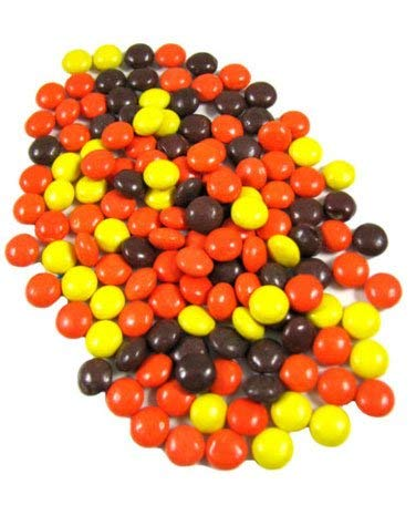 Reese's Pieces REGULAR Size Crunchy Peanut Butter Shell Pieces Vending | Cake Decor Crunchy Shell Pieces Candy - 5 lb by Tam Tam Candy