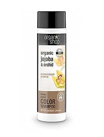 Organic Shop Shampoo Für Gefärbtes Haar Mit Orchidee Nährt