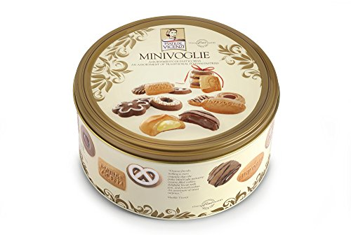 Pasticceria Matilde Vicenzi Minivoglie Tin, Assortment of Traditional Italian Pastries