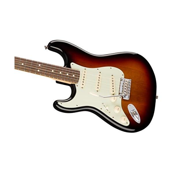 American Professional Stratocaster Lefthand RW 3-Tone Sunburst