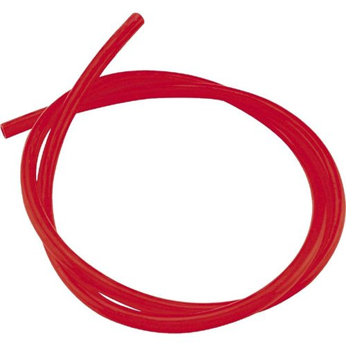 Helix Racing Fuel Line - 3/8in (ID) - 1/2in (OD) x 3ft. - Transparent Red (380-1201)