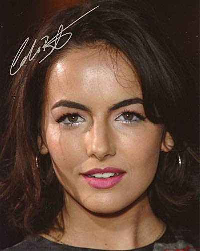 Camilla Belle BEAUTIFUL CLOSE-UP In Person Autographed Photo