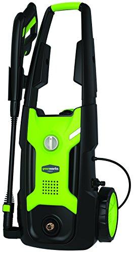 Stark reduziert: Greenworks Tools 5102407 G5 Hochdruckreiniger 2000W, 140BarSet mit Oberflächenreiniger und mehr