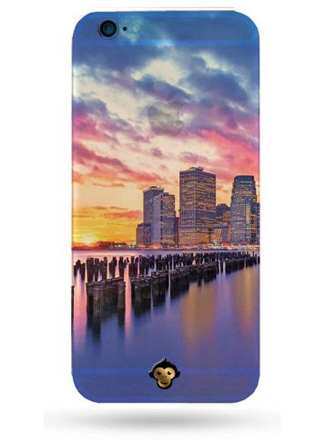 Monkey Cases® Miami Night - Handyhülle für iPhone - Schutz Cover - Amerika (iPhone 5 / 5s / SE)