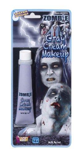 Zombie Halloween Kids (Rubie's Costume Zombie Grey Tube Makeup)