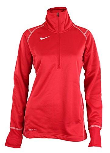 Sweatshirt de performance Nike Zip Therma-FIT Quarter Zip, Options de couleur (Medium, Scarlet)