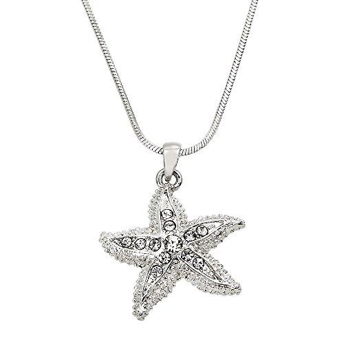 Starfish Pendant Charm Necklace - 9