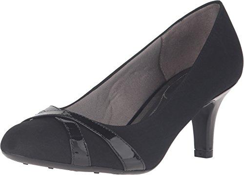 LifeStride Women's, Peace Mid Heel Pump Black 9.5 M