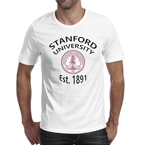 Men's Stanford-University-1891- Classic Round Cotton T-Shirt (Stanford University-shop)