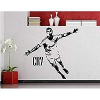 Krisdeer Estrella de fútbol Creativa Cristiano Ronaldo Vinilos