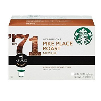 STARBUCKS PIKE PLACE ROAST COFFEE K CUP 108 - Outlets The Pike