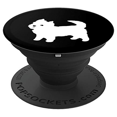 Cute Little Westie - PopSockets Grip and Stand for Phones and Tablets