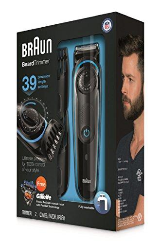 braun bt3040 men 39 s ultimate beard trimmer deals coupons reviews. Black Bedroom Furniture Sets. Home Design Ideas