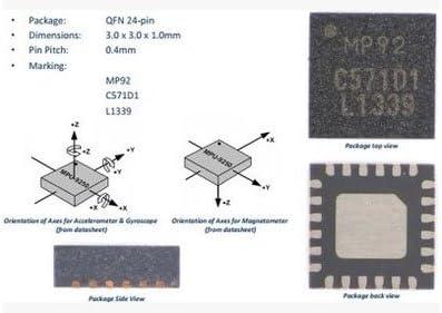 SYEX 5pcs//lot GY-9255 MPU-9255 Sensor Module Alternative MPU9150 MPU9250