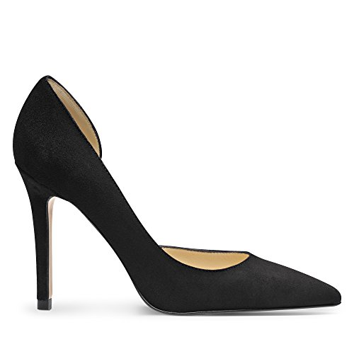Evita Shoes Pump - Tacones Mujer Black - Black
