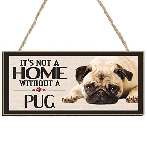 Weepo Wood Dog House Door Hanging Plates Dog Signs Home Pet Decoration Plaques Dogs Accessory Gift from weepo