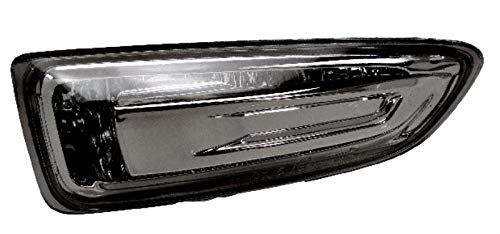 Left Passenger Side Front Indicator Lamp Indicator Light Lamp (Black Bezel):