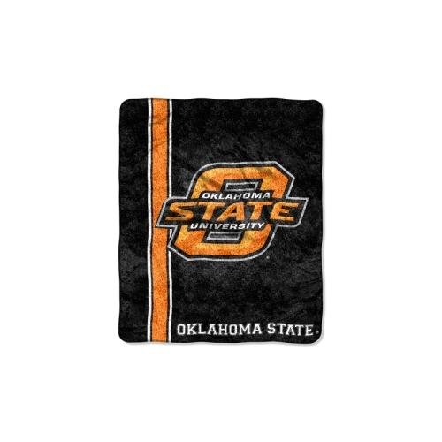 NCAA Oklahoma State Cowboys 50' x 60' Sherpa On Sherpa Throw Blanket 'Jersey' Design