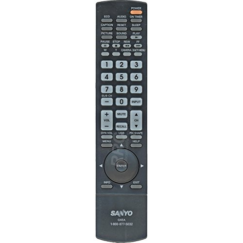 (Sanyo GXEA LCD TV System Remote Control)