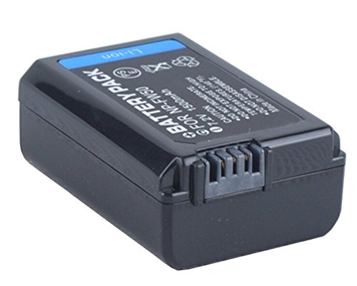 NP-FW50 Battery (2-Pack) and Charger for Sony Alpha ILCE-6000, ILCE-6000L Mirrorless Digital Camera