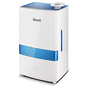 LEVOIT Cool Mist Humidifier, 4.5L Ultrasonic Humidifiers for Bedroom Babies, Large-Capacity Vaporizer with Whisper-Quiet Operation, Auto Shut Off, 40 Hours Working Time