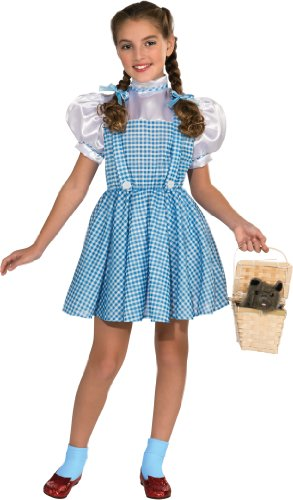 Girl Scarecrow Halloween Costumes (Wizard of Oz Child's Dorothy Costume)