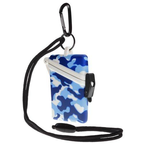 Witz Camo Surf Safe Waterproof Case, Blue