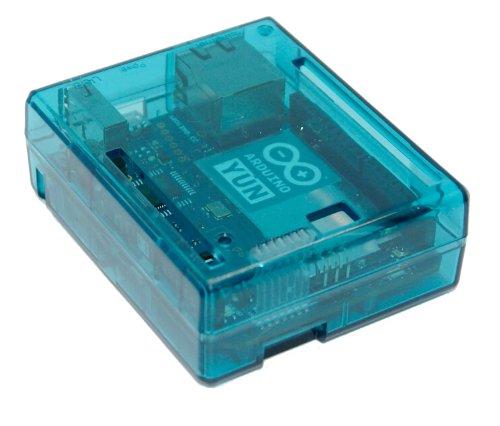 Sb components arduino yun case transparent blue buy
