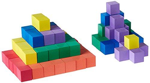 Kids Soft Foam Cube (ETA hand2mind 1-Inch Foam Color Cubes (Set of 102))