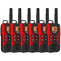 Uniden GMR3055 FRS GMRS Two-Way Radio Rechargeable Walkie Talkies 6-PACK