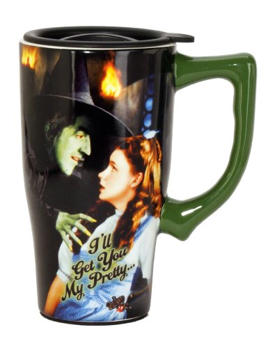Wizard Of Oz I'll Get You My Pretty Travel Mug, Multi Colored ()