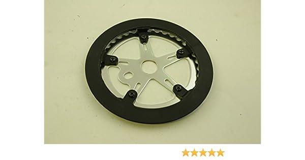 BMX plato de 36 dientes con plástico protector para OPC o 3 piezas ...