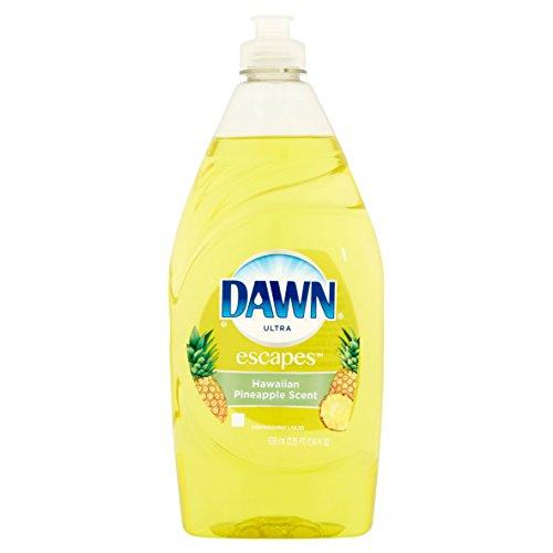 Price comparison product image Dawn Ultra Escapes Hawaiian Pineapple Scent Dishwashing Liquid,  21.6 Fl Oz