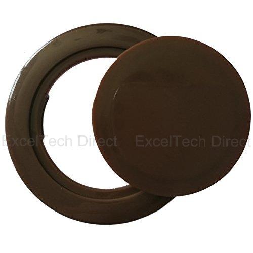 Do4U Patio Garden Umbrella Table Hole Ring Plug Cover and Cap for Table Set (2inch, - Reducer Flexible Pvc