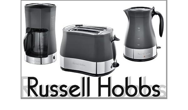 Russell Hobbs Stylis - Juego de cafetera, tostadora y ...