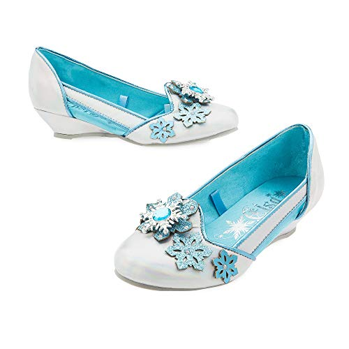 Disney Elsa Wedges for Girls Size 2/3 YTH Multi