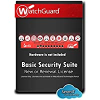 WatchGuard | WGT15331 | WatchGuard Basic Security Suite Renewal/Upgrade 1-yr for Firebox T15
