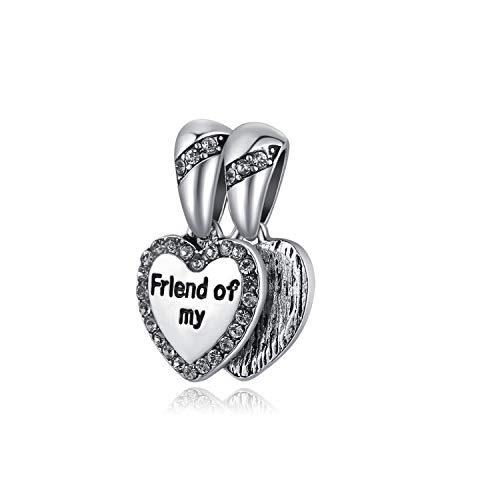 Wecottkerc 1Pc Silver Clover Happy Birthday Family Life Tree Charms Fit Original Bracelet DIY Jewelry Gifts N178 A599(1)]()