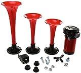 Automotive : HELLA (3001671) 12V Triple-Tone Air Horn Kit