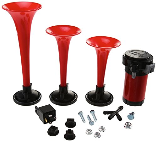 HELLA (3001671) 12V Triple-Tone Air Horn Kit